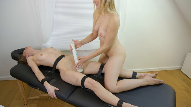 Forced orgasm battle - Norah's turn